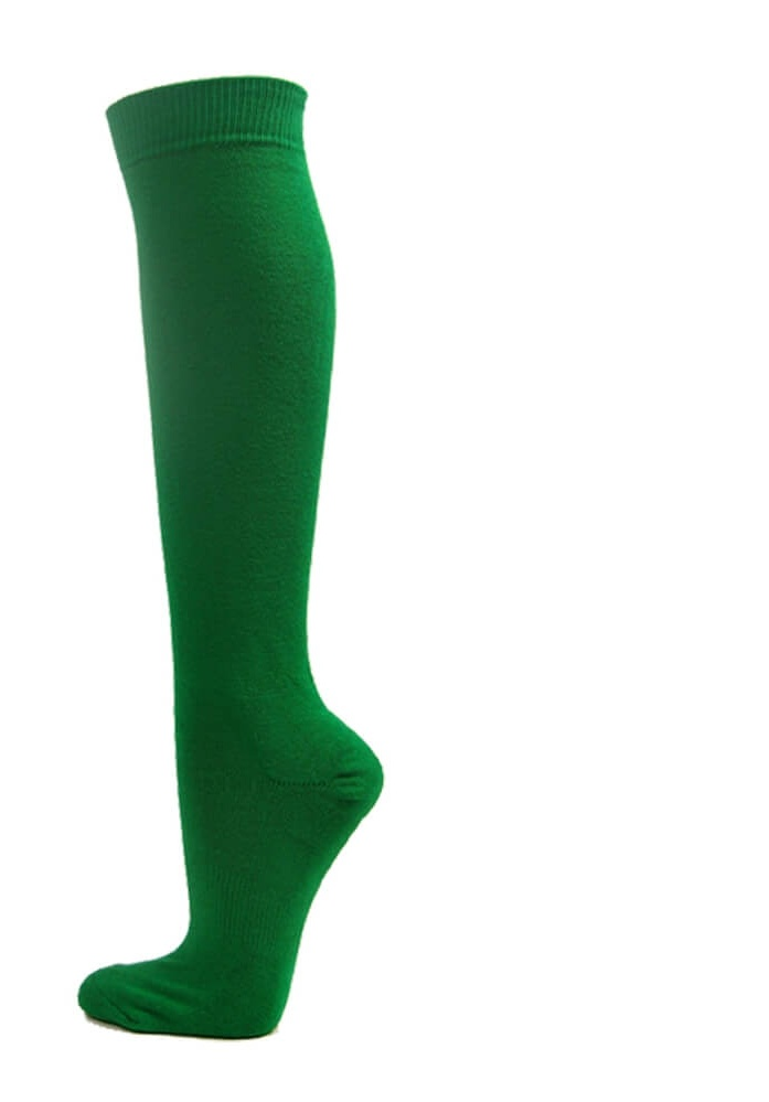 Knee High Sports Athletic Baseball Softball Socks, BLUE, Large