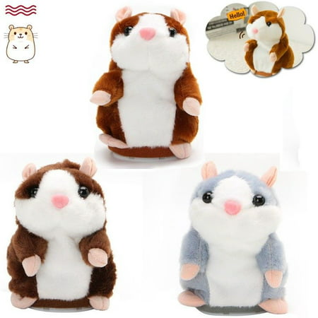 3Pcs Adorable Gift Toy Talking Hamster Mouse Plush Doll for Kids Mimicry child Plush Toy Gift Repeats What You Say](My Talking Tom Halloween)