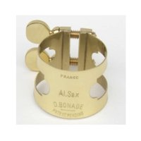 Bonade Inverted Lacquered Eb Alto Saxophone Ligature