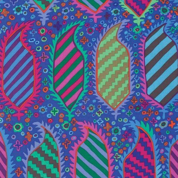 Free Spirit Fabrics Kaffe Fassett 2015 Collective Blue Striped Heraldic