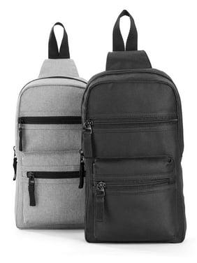 No Boundaries Nylon Sling Bag, 2-Piece Set
