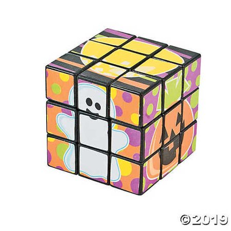 Halloween Cuba (Mini Halloween Magic Cubes)