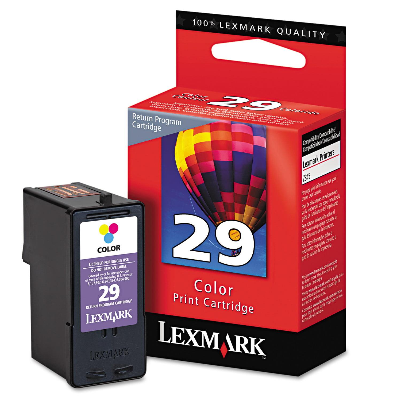 Lexmark No 29 Ink Cartridge 1 Each Quantity