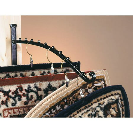 Minuteman International Rug Rack Bracket plus 10 Hangers