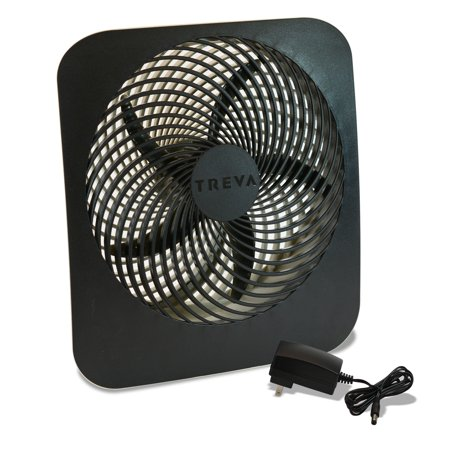 Treva O2cool 10 In Fan W/ Ac Adapter (Canless Air System O2 Hurricane)