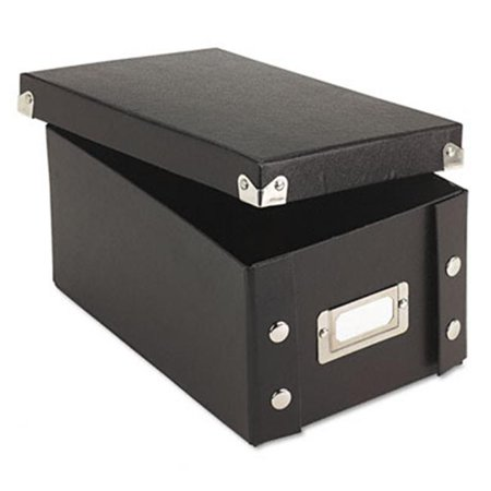 Snap N Store Collapsible Index Card File Box Holds 1100 4 x 6 Cards  Black](Index Card Storage)
