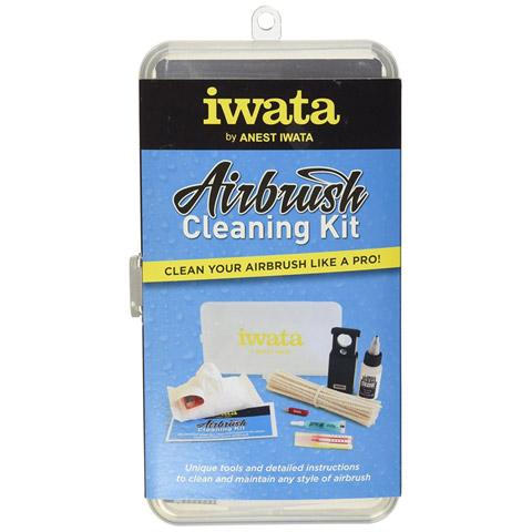 Genuine Anest Iwata Airbrush Cleaning Kit /& Maintenance Tools Full Set CL 100 JP