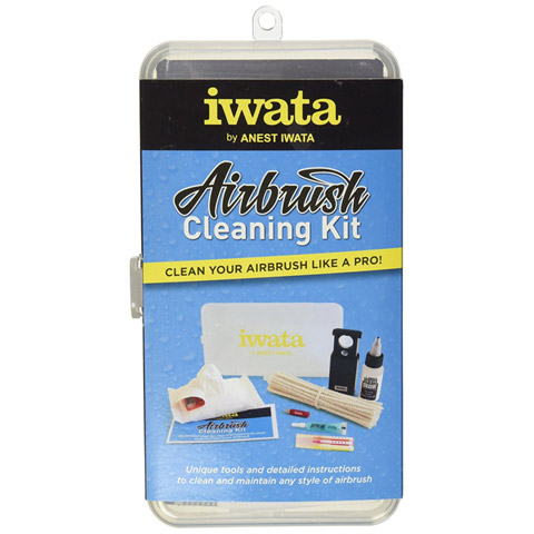 Iwata-Medea Airbrush Cleaning Kit: 60 pieces