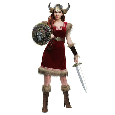 Barbarian Viking Womens Costume - Costumes Vikings