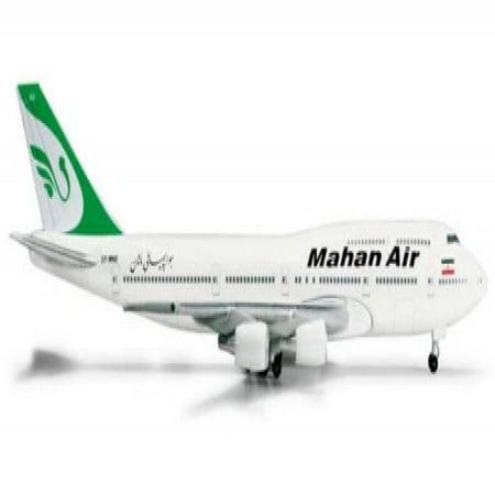 HE524285 Herpa Wings Mahan Air 747-300 1:500 Combi EP-MND Model -