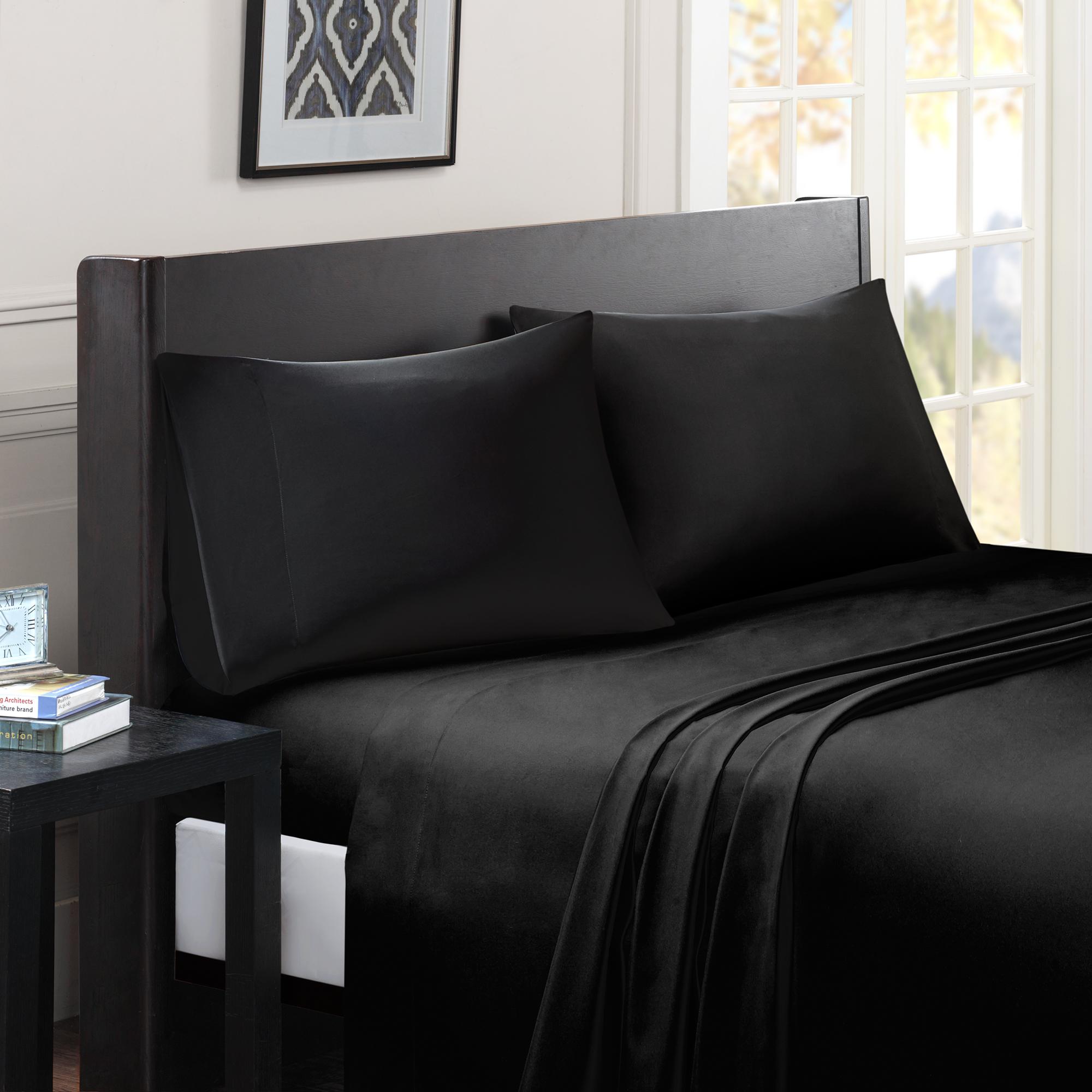Comfort Classics Micro Splendor Solid Colored Sheet Set