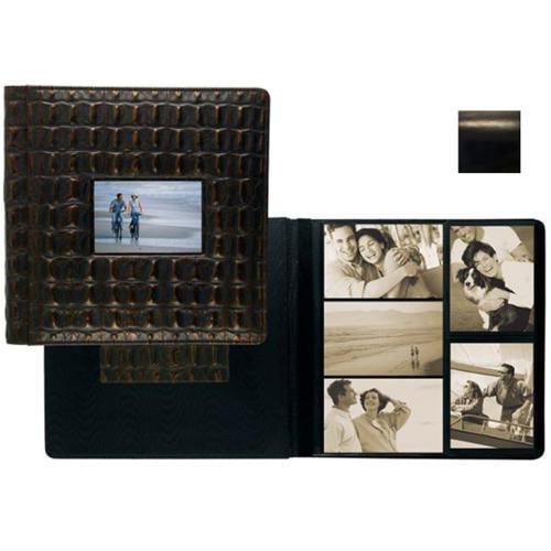 Raika RM 113-D BLK Frame Front Scrap Book Album - Black