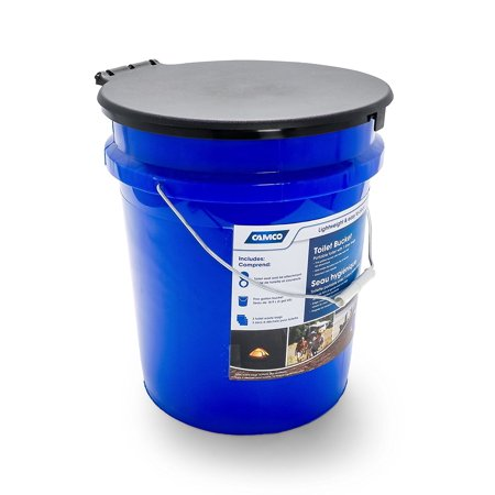 5 Gallon Bucket Toilet Seat Walmart.Camco 41549 5 Gallon Toilet Bucket With Seat