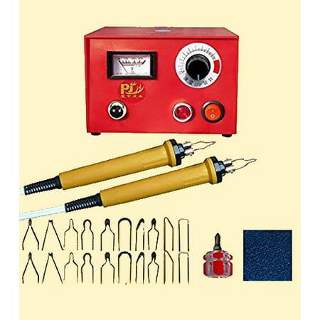 TOPCHANCES Wood Burning Tool Gourd Wood Crafts Tool Kit 110V 50W Multifunction Laser Pyrography