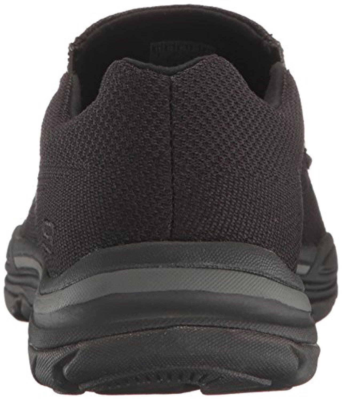 942e9ed409b7 Skechers - 65082 W Wide Fit Black Skechers Shoe Men Memory Foam Comfort  Mesh Slip On Casual - Walmart.com