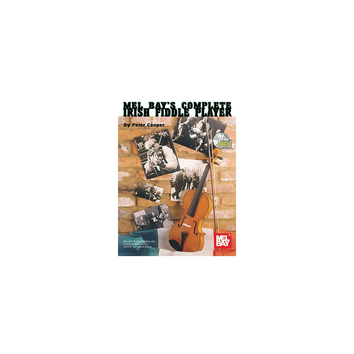 Mel Bay Complete Irish Fiddle Player Book Cd Pckg, Ship from America by