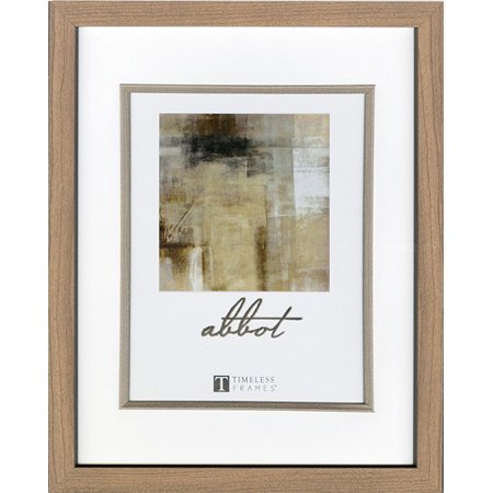 Timeless Decor Abbot Oak Picture Frame: 8 x 10 inches ()