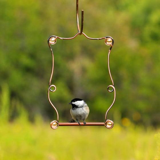 Perky-Pet Copper Beaded Hummingbird Swing - Walmart.com