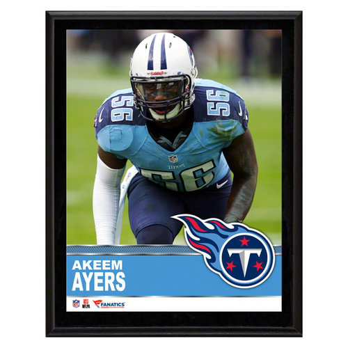 NFL - Akeem Ayers Tennessee Titans Sublimated 10x13 Plaque
