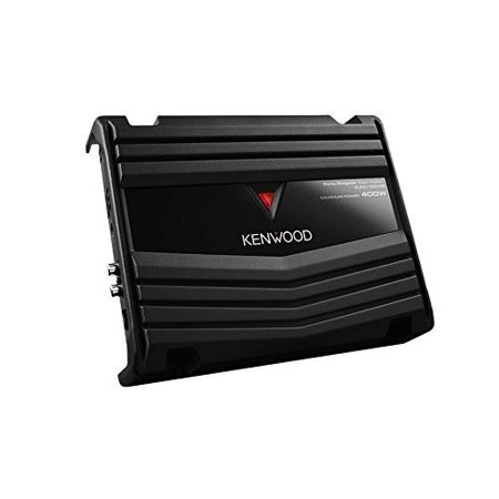 Performance Technique Amp (Kenwood KAC-5206 400W Max 2-Channel Class AB Performance Series Car Amplifier)