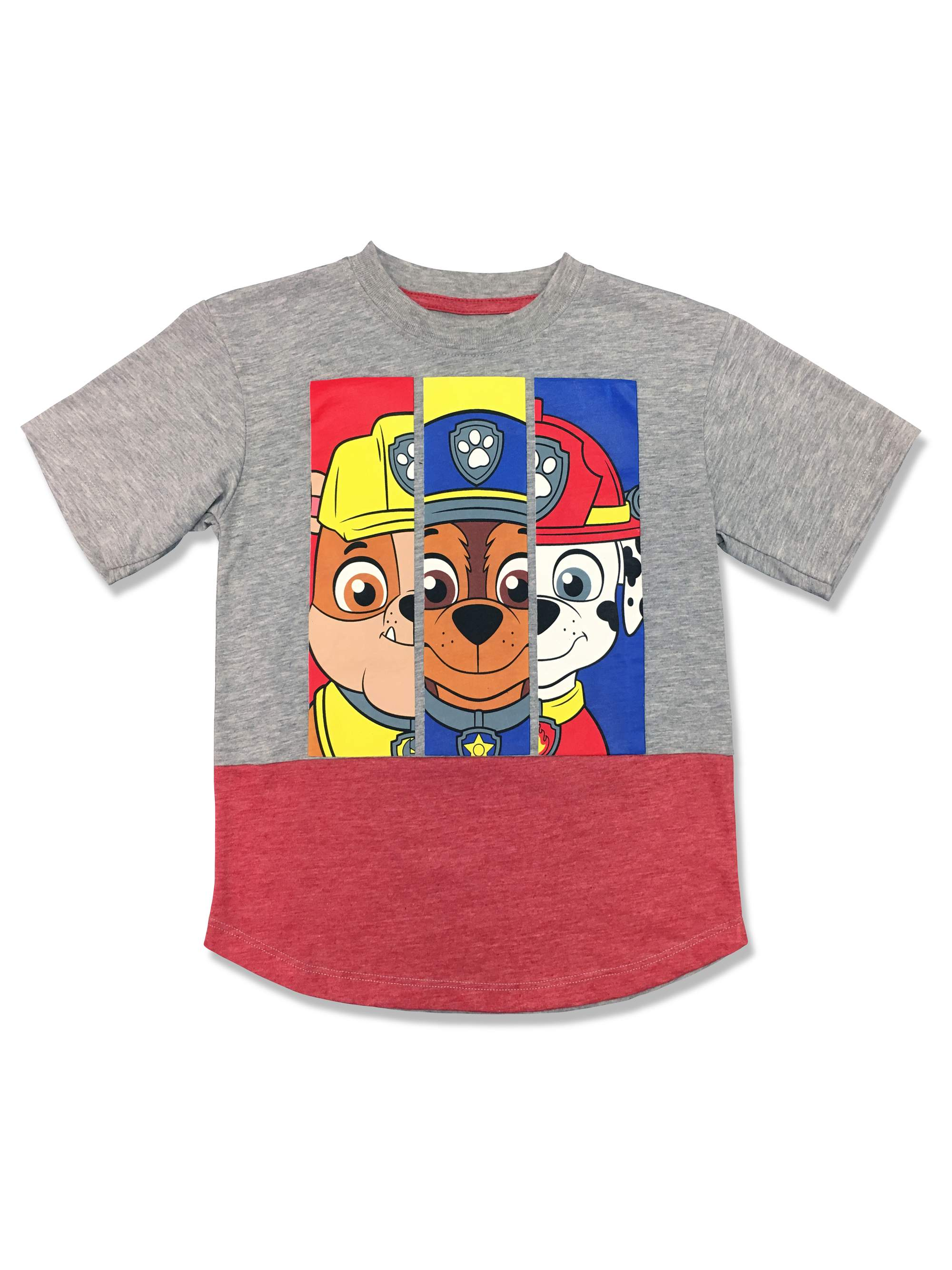 Short sleeve colorblock tee shirt (Little Boys)