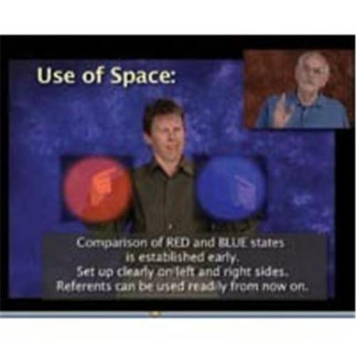 Harris Communications DVDTUTORIAL100 Video Tutorial 100 - Use of Space and Sign Choice