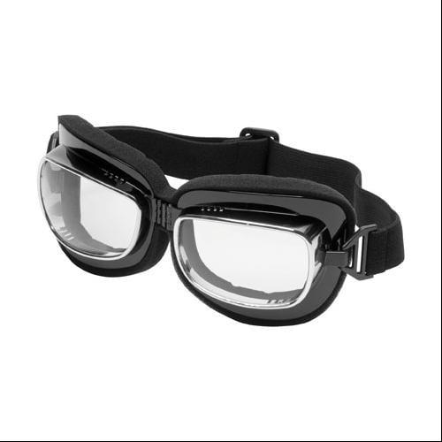 River Road Rambler Aviator Goggles Clear Lens