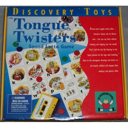 Tongue Twisters Sound Lotto Game | Walmart Canada
