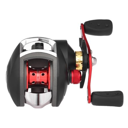12+1 BB Ball Bearing 8.1:1 Bait Casting Fishing Reel One-way Clutch Baitcasting Reel Left/Right Hand Fishing Reel Magnetic Brake Lure Fishing Reel - image 1 de 7
