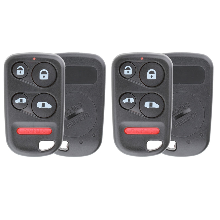 New Replacement 6b Keyless Entry Remote Key Fob Shell Case Pad for OUCG8D-399H-A