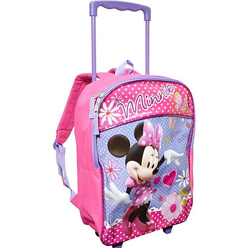 Disney Minnie 16 Inch Rolling Backpack