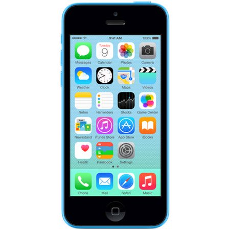 Refurbished Apple iPhone 5C 16GB LTE Cellular, Blue AT&T