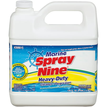 Spray Jug (Spray Nine® 26901S Marine Heavy-Duty Cleaner/Degreaser 1 gal.)