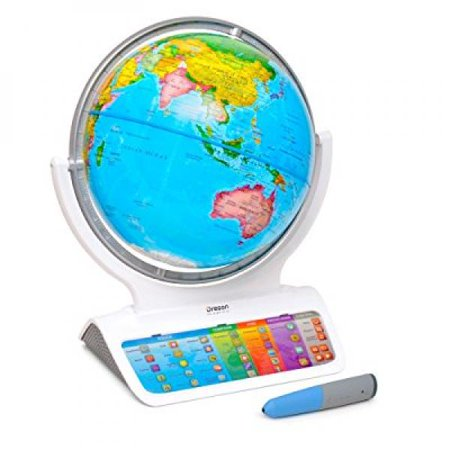Smart Globe Infinity Sg318   Interactive Smart Globe With Wireless Smart Pen By Oregon Scientific