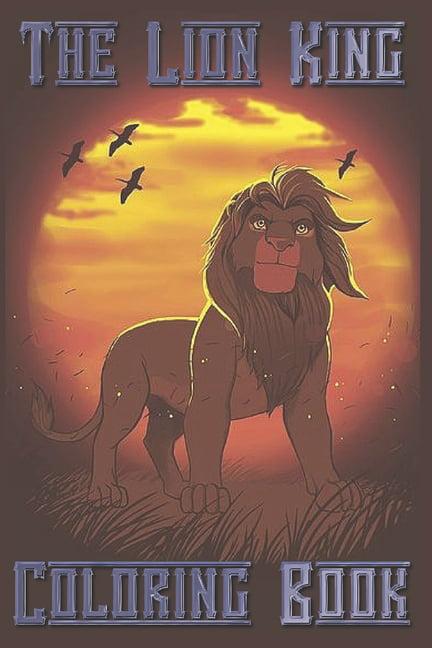 The Lion King Coloring Book (Paperback) - Walmart.com - Walmart.com