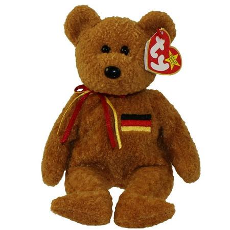 Germany Mohair Bear (TY Beanie Baby - GERMANIA the Bear (German Exclusive) (8.5)