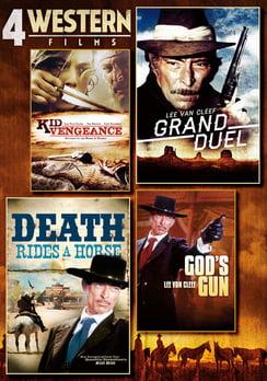 4-Film Western Pack Volume 1 (DVD) by Platinum Disc Corporation