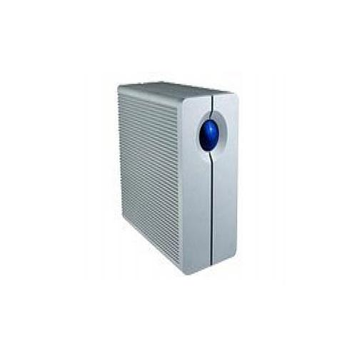 LaCie 2big Quadra - Hard drive array - 8 TB - 2 bays - 2 x 4 TB - FireWire 800, USB 3.0 (external)