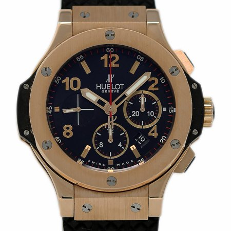 Pre-Owned Hublot Big Bang 301.PX.1 Gold  Watch (Certified Authentic & (Hublot Big Bang Ayrton Senna All Black)