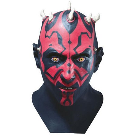 Star Wars Darth Maul Latex Costume Mask - Star Wars Darth Maul Mask