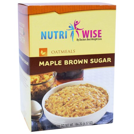 Diet High Protein Oatmeal with Maple Brown Sugar (7/Box) - (Best Oatmeal Brand For Weight Loss)