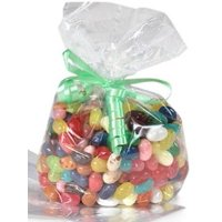 """3-1/2x 2x 7-1/2"""" Clear Food Gift Party Favor Cello Bags -25pc"""