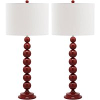 Safavieh Jenna 31 in. H Stacked Ball Solid Table Lamp, Set of 2