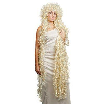 enigma wigs women's rapunzel, blonde, one size](Rapunzel Costume And Wig)