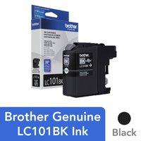 Brother Genuine Innobella LC101BK Black Ink Cartridge - Inkjet - Standard Yield - 300 Pages - Black - 1 Each