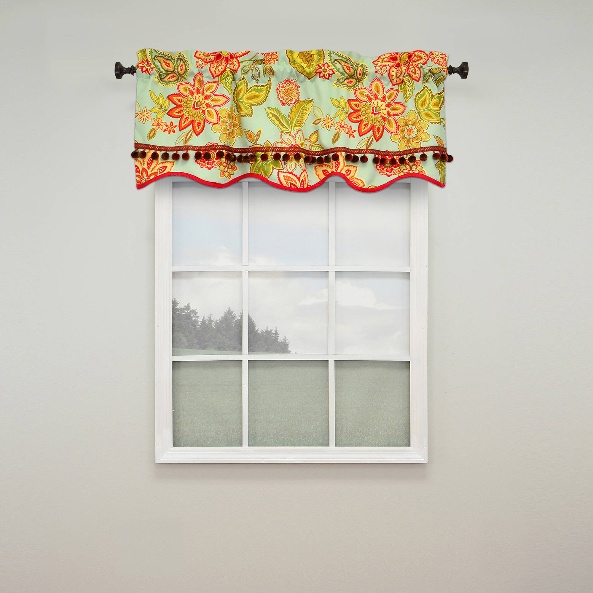 Charismatic Lined Window Valance