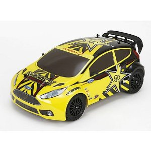 Vaterra VTR03010 Ford Fiesta RallyCross 1/10th 4WD RTR Car W/ AVC Multi-Colored