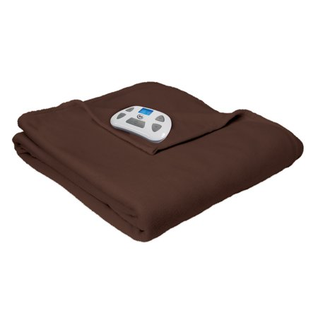 MicroFleece Electric Heated Blanket by Serta