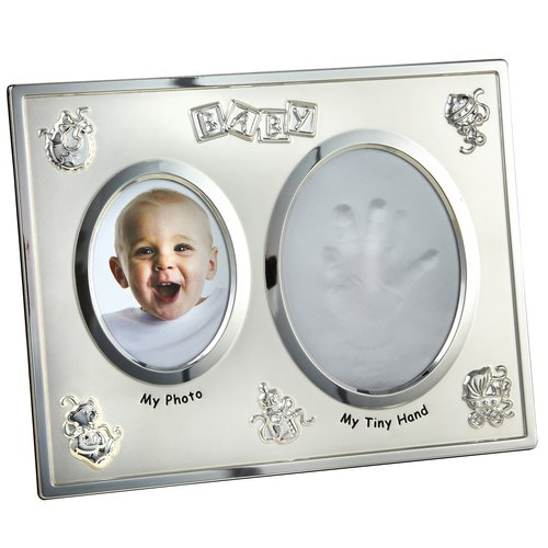 Heim Concept Baby with Hand Print Opening Picture Frame