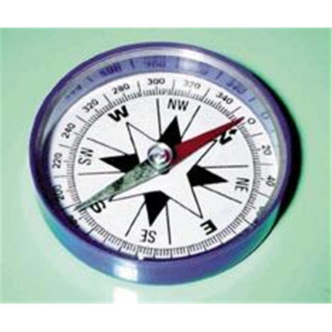 Olympia Sports 14949 Extra Large Magnetic Compass with Clear Plastic Top